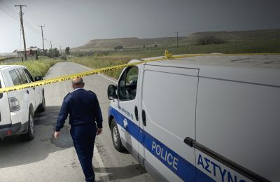 Larnaca police called to investigate after body found near Athienou with visible signs of injuries