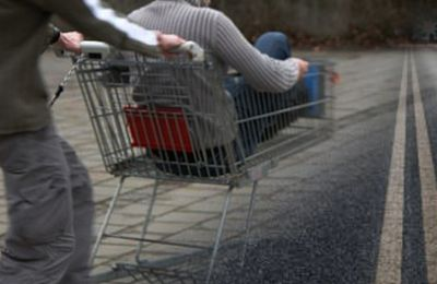 Vehicle in Kato Paphos flees accident scene after hitting two boys on an evening supermarket buggy joyride
